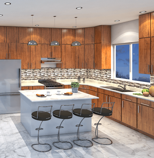 KHB web design 3d- kitchen